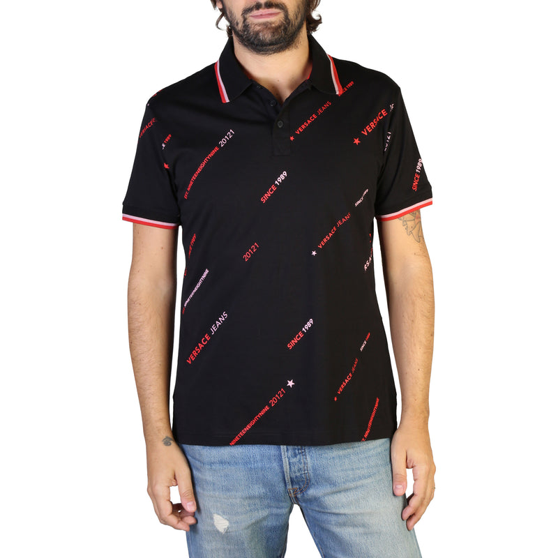 Versace Jeans Men's Short Sleeve Polo shirt - B3GTB7P8_36610
