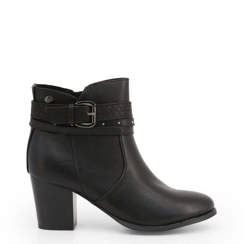 Xti Women's Ankle Strap Buckle Ankle boots With Side Zip - 48400
