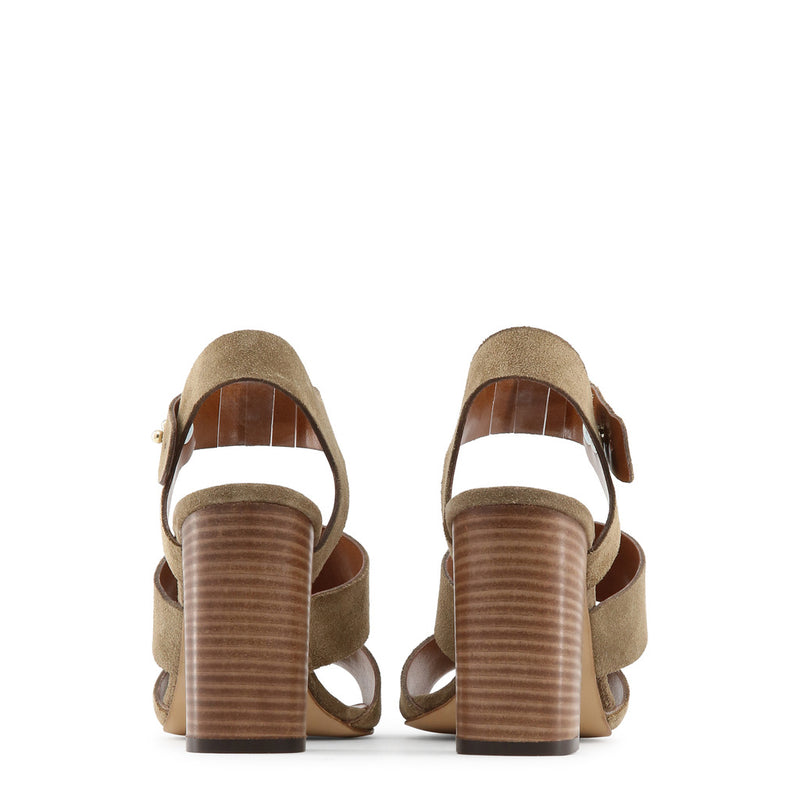 Made in Italia Women's Side Buckle Leather Sandals - TERESA