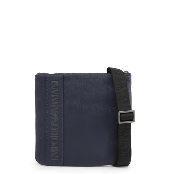 Emporio Armani Men's Zip Closure Crossbody Bag - Y4M177_YG89J