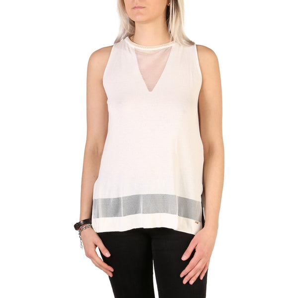 Guess Women's Sleeveless Round Neck Top - 72G544_5311Z
