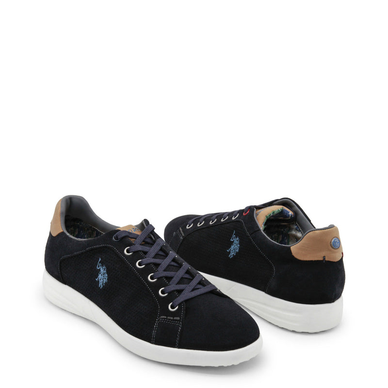 U.S. Polo Assn. Men's Suede Sneakers - FALKS4170S8_S1