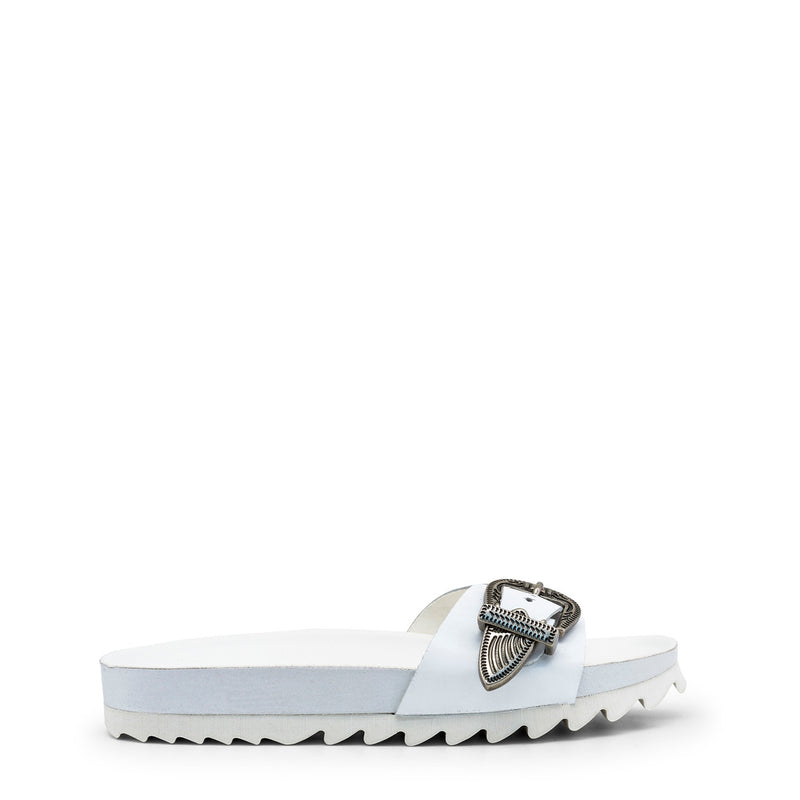 Ana Lublin Women's Leather Buckle Sandals - JORGINA