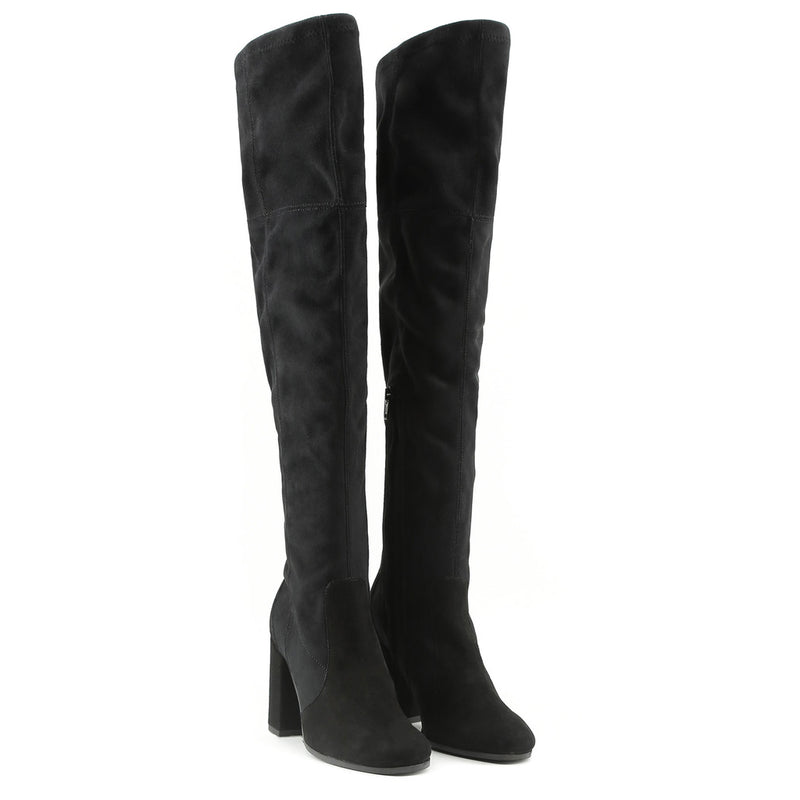 Made In Italia Women's Boots with Side Zip and Knee Shaft - VANESSA