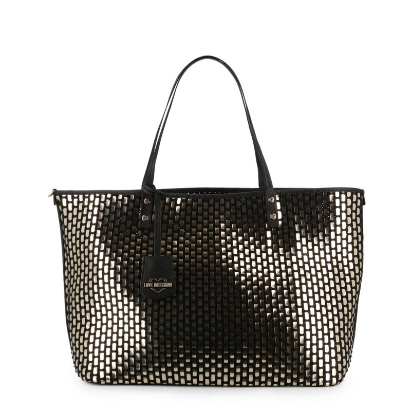 Love Moschino Women's Zip Closure Shopping Bag - JC4290PP07KM