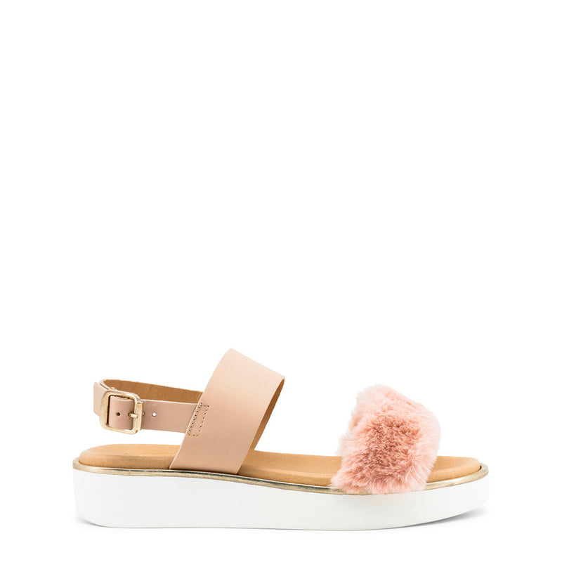 Ana Lublin Women's Ankle Strap Buckle Wedge Sandals - IRINA