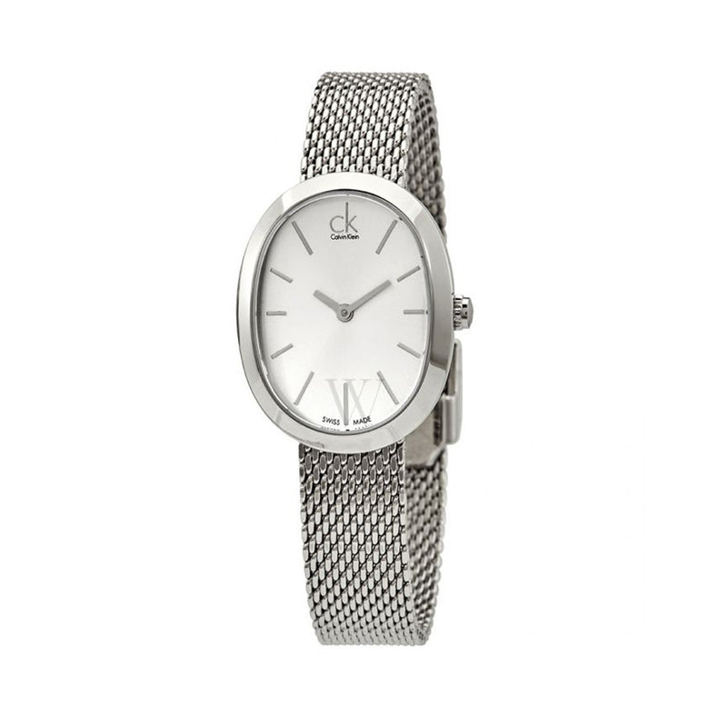 Calvin Klein Women's Steel Strap Grey Quartz Analog Watch - K3P23