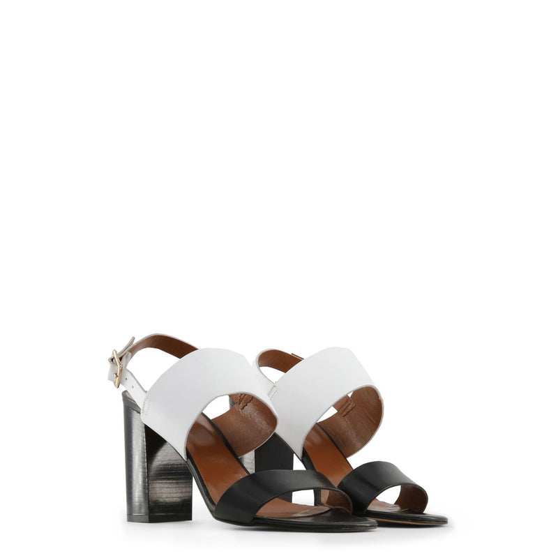 Made in Italia Women's Side Buckle Leather Sandals - MANUELA