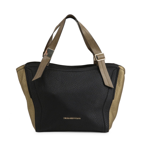 Trussardi Women's Zip Closure Shopping Bag - 75B030