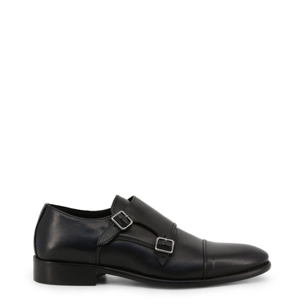 Made in Italia Men's Leather Buckles Flat Shoes - DEJAVU