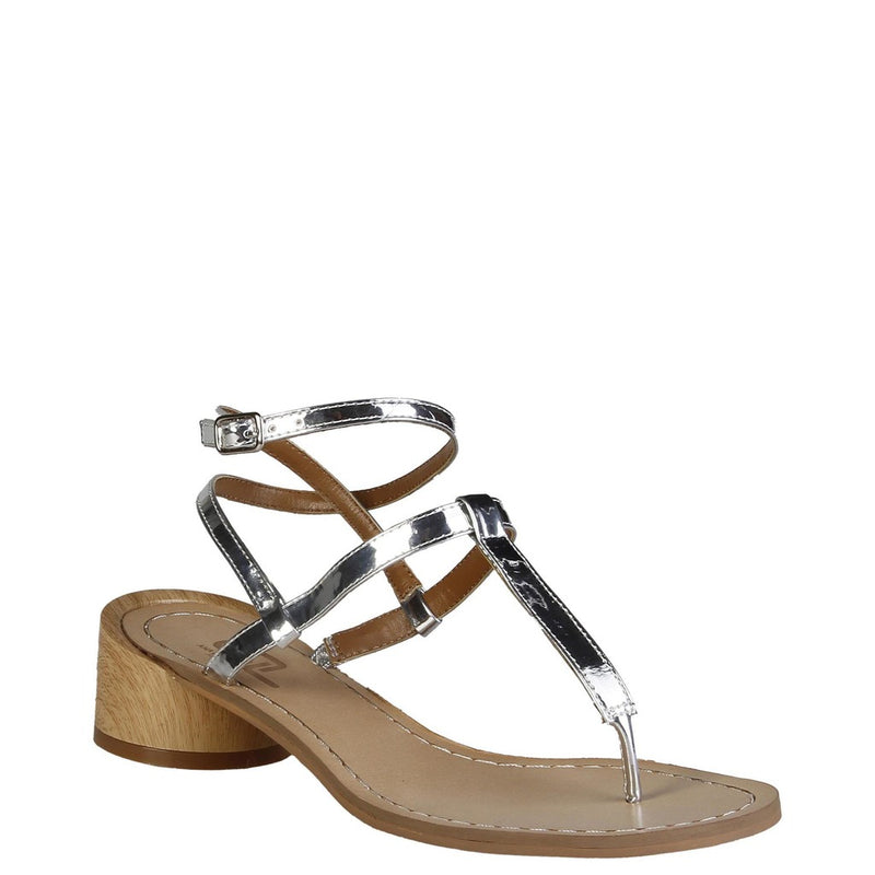 Ana Lublin Women's Leather Sandals - VIOLETTA