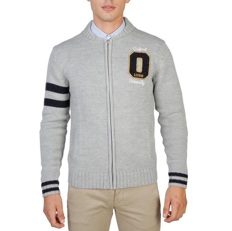 Oxford University Men's Sweater - OXFORD_TRICOT-TEDDY