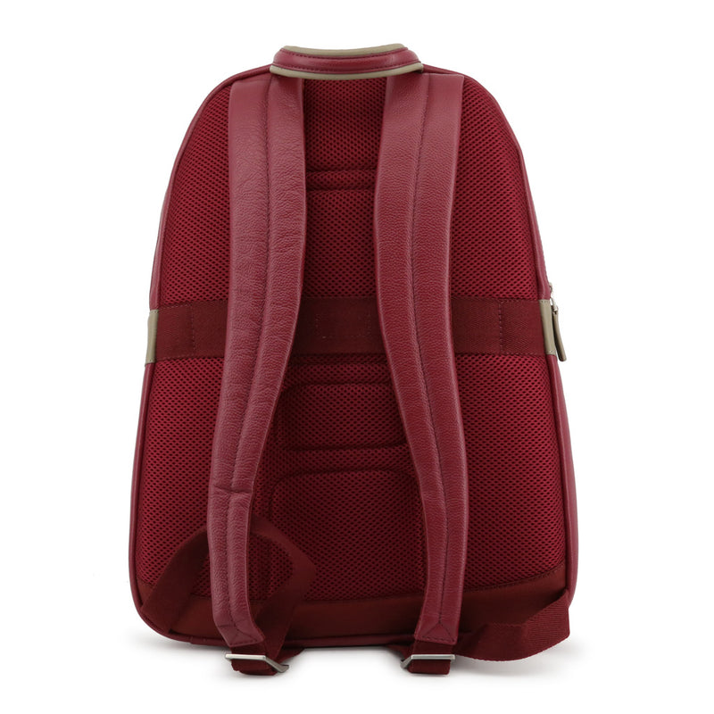 Piquadro Men's Zip Closure Leather Backpack - CA1813X1