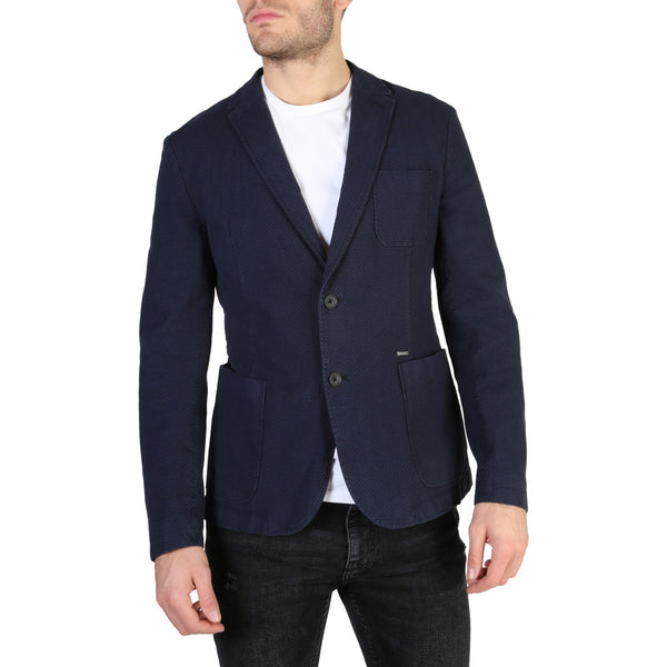 Guess Men's Long Sleeve Blazer - M84N02