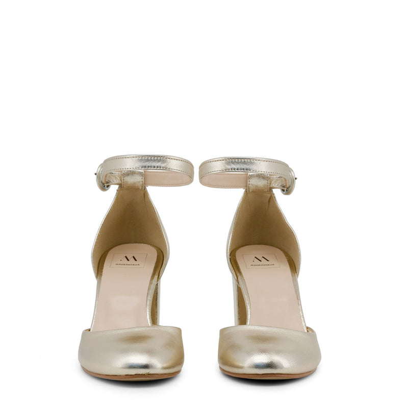 Made in Italia Women's Leather Ankle Strap Sandals - INSIEME