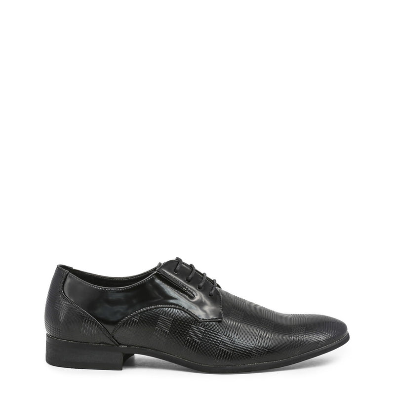 Duca di Morrone Men's Check Print Derby Lace-Up Shoes - CLARK