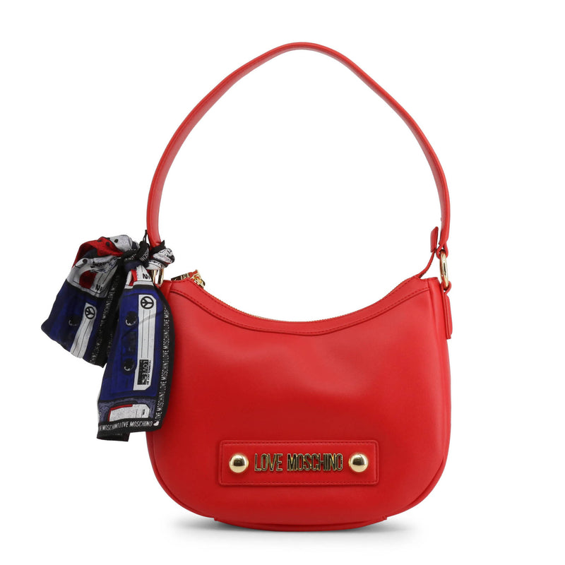Love Moschino Women's Zip Closure Shoulder Bag - JC4222PP08KD
