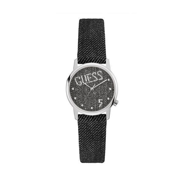 Guess Women's  Black Quartz Analog Watch - V1017