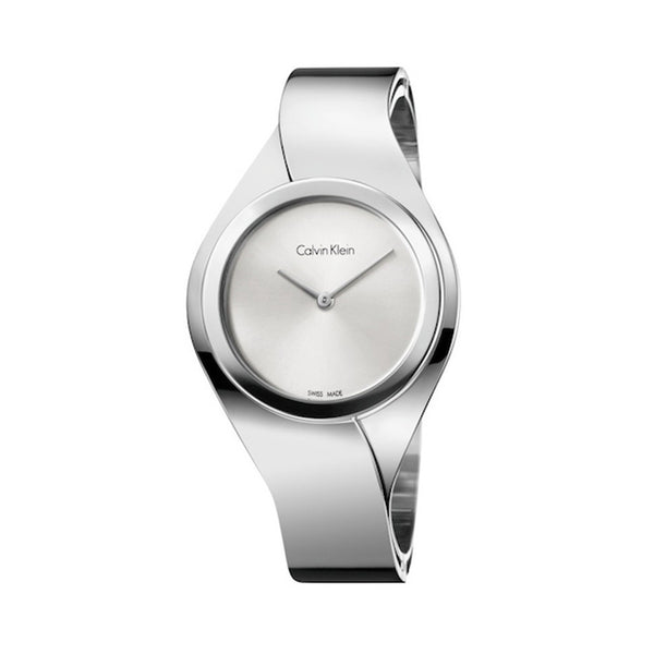 Calvin Klein Women's Steel Strap Grey Quartz Analog Watch - K5N2M