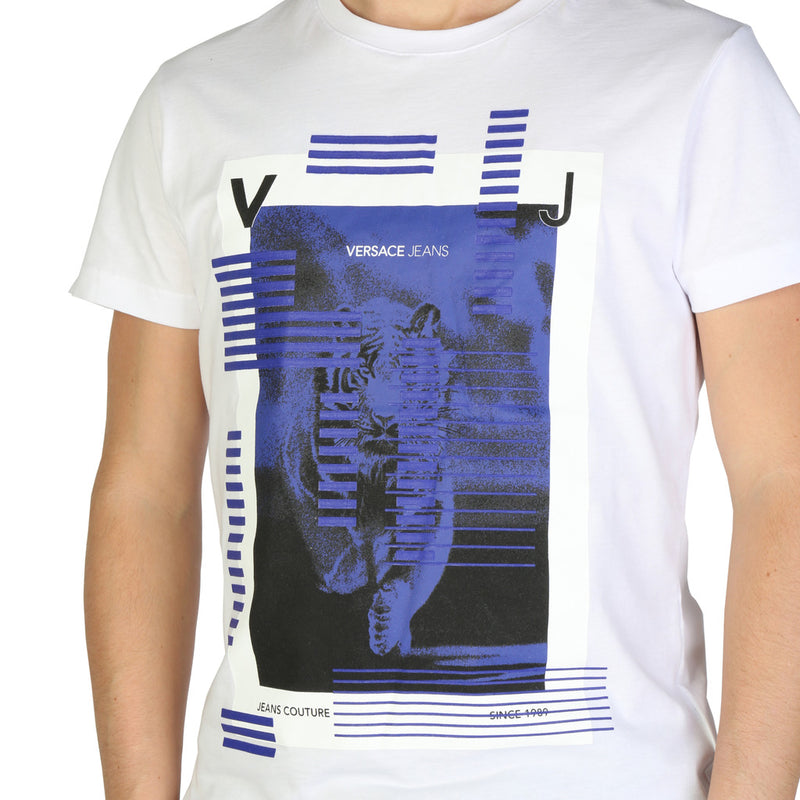 Versace Jeans Men's Short Sleeve T-shirt - B3GSB73A_36598