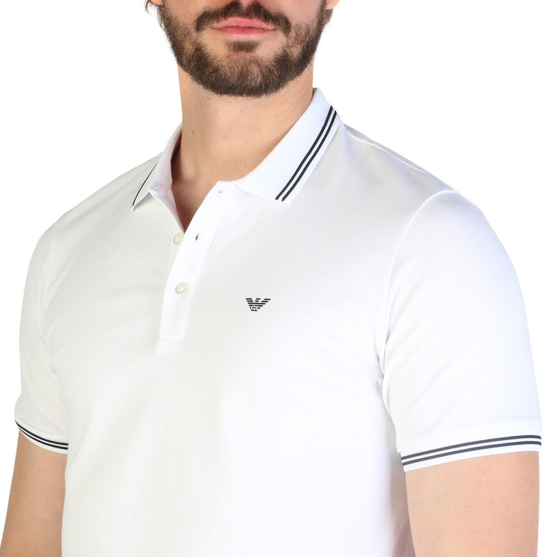 Emporio Armani Men's Short Sleeve Polo shirt - 8N1F2B