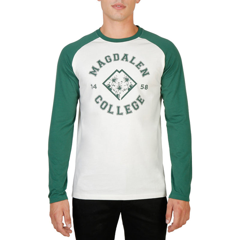 Oxford University Men's T-shirt - ORIEL-RAGLAN-ML