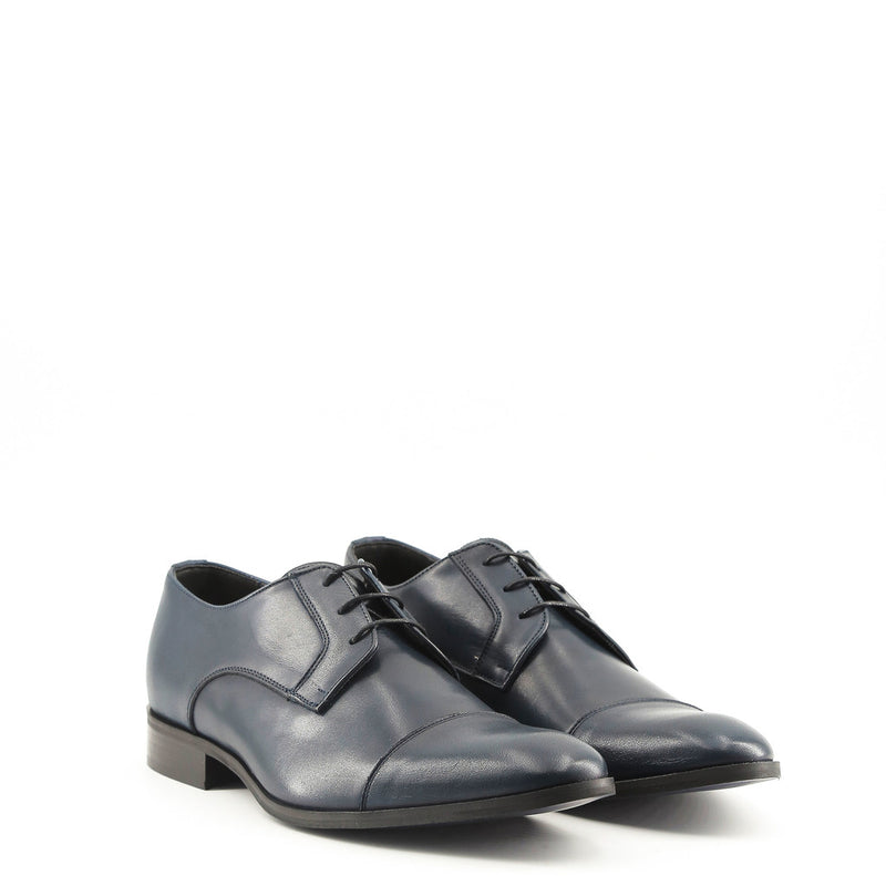 Made in Italia Men's Leather Laced Shoes - MARCEL