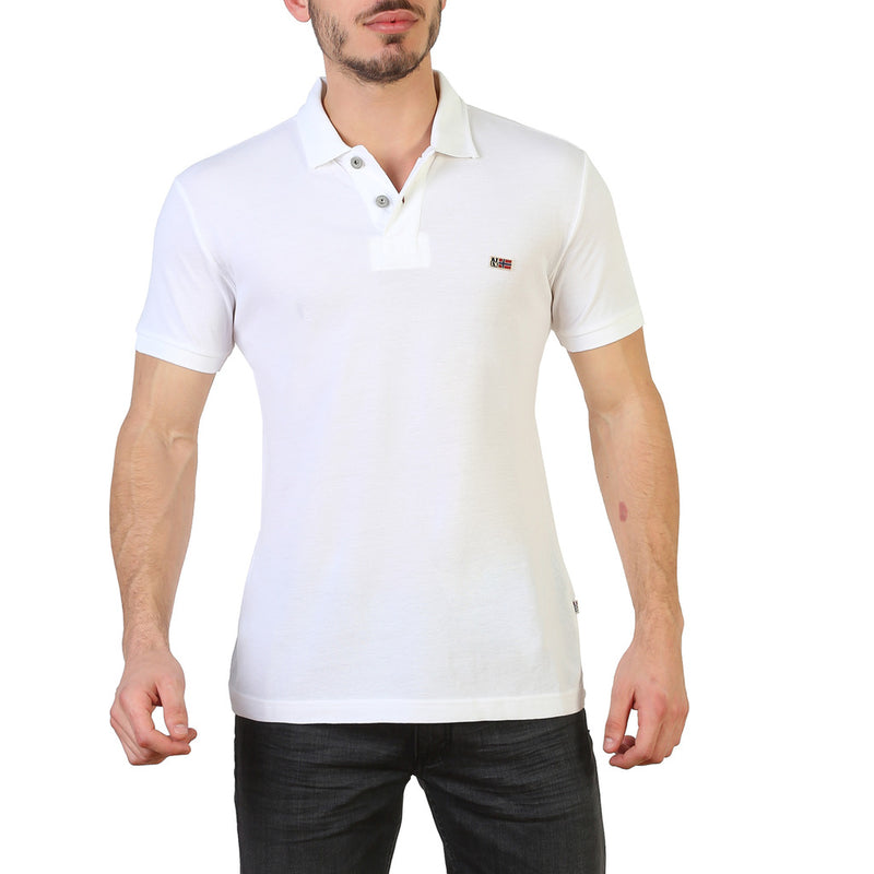 Napapijri Men's Short Sleeve Polo shirt - N0YHDX