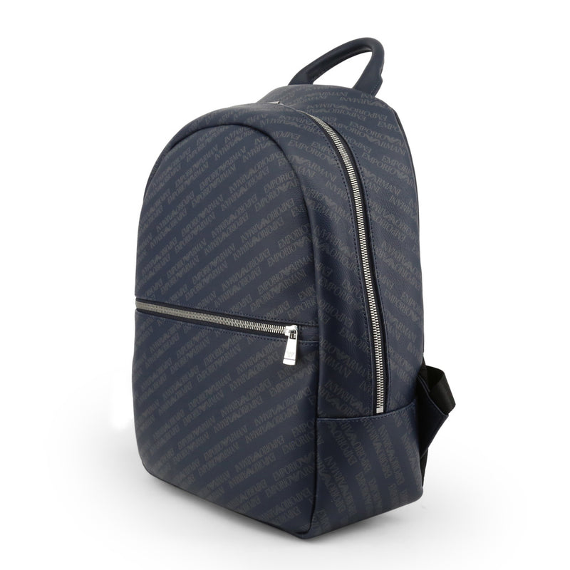 Emporio Armani Men's Zip Closure Backpack - Y4O165-YLO7E
