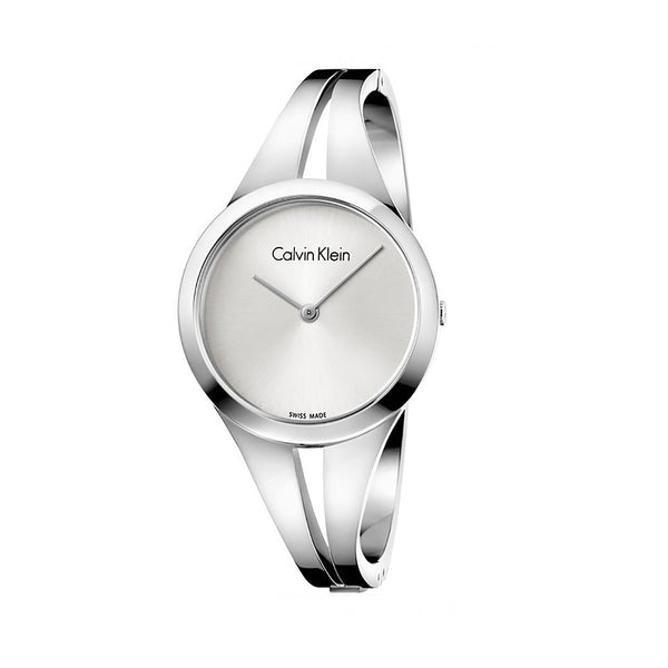 Calvin Klein Women's Steel Strap Grey Quartz Analog Watch - K7W2S1