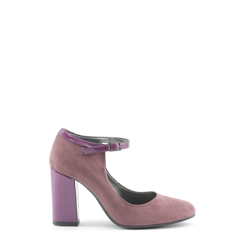 Made In Italia Women's Pumps, Adjustable Ankle Strap, Patent Heel - BIANCA