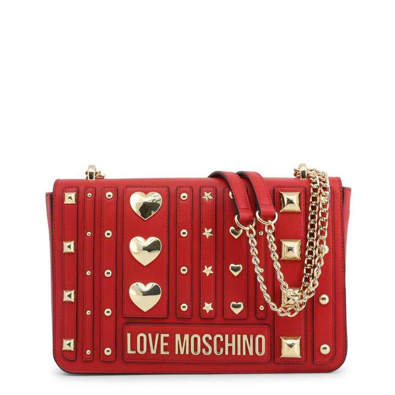 Love Moschino Women's Magnetic Closure Shoulder Bag - JC4236PP08KF