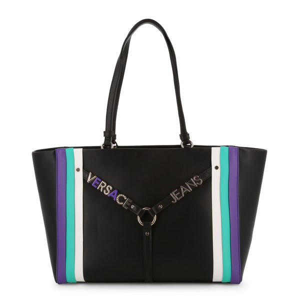 Versace Jeans Women's Zip Closure Shopping Bag - E1VTBBL2_70887