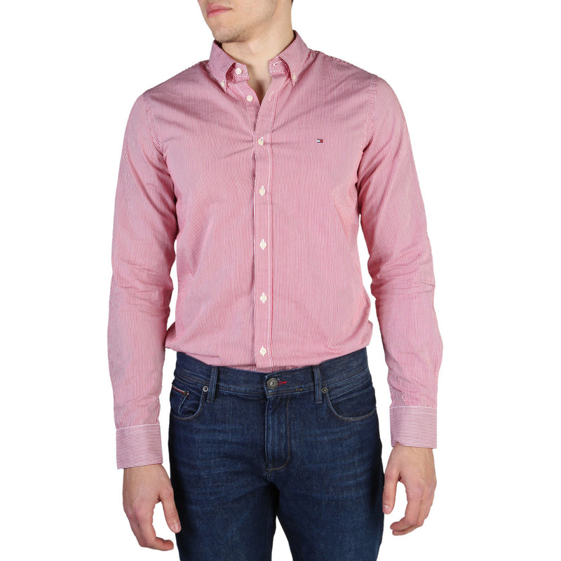 Tommy Hilfiger Men's Slim Fit Long Sleeve Shirt - MW0MW03026