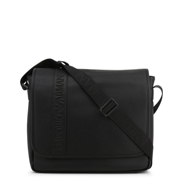 Emporio Armani Men's Magnetic Closure Crossbody Bag - Y4M173-YG89J