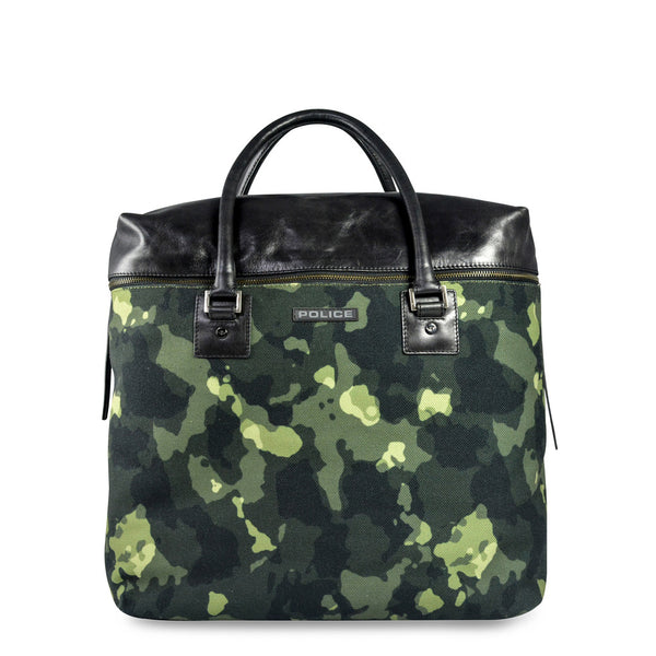 Police Men's Zip Closure Travel Bag - PT032016