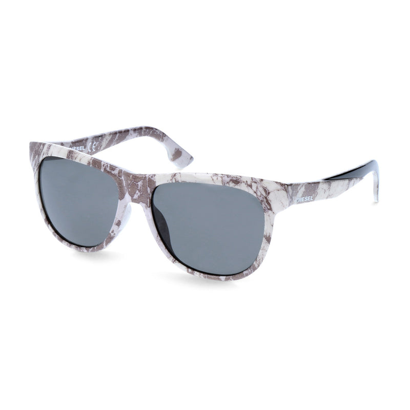Diesel Unisex Acetate Mirrored Sunglasses - DL9076