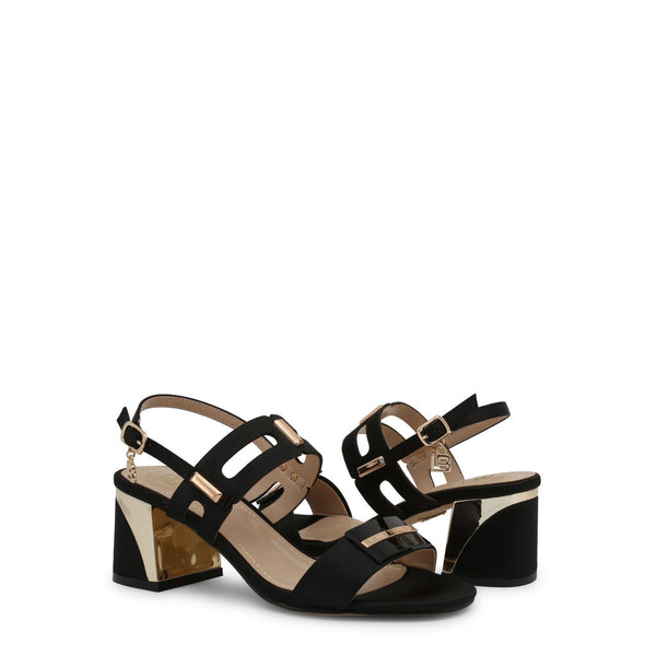 Laura Biagiotti Women's Ankle Strap Buckle Sandals - 6151