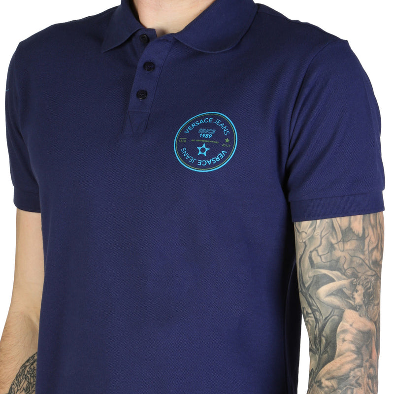 Versace Jeans Men's Short Sleeve Polo shirt - B3GTB7P3_36571