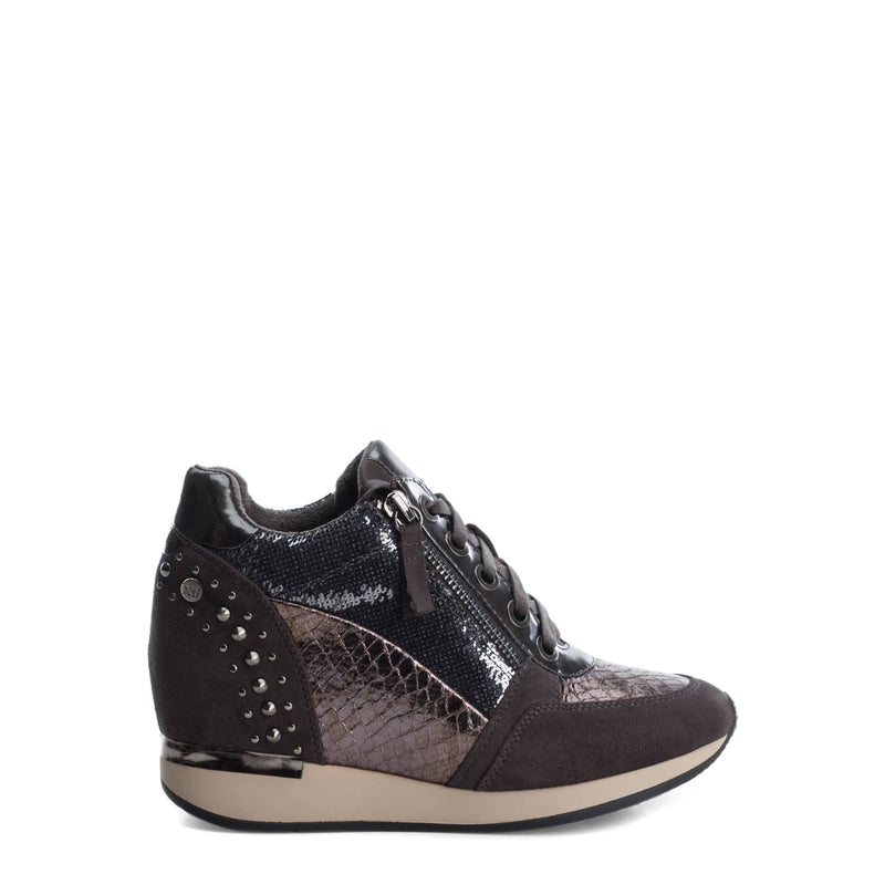 Xti Women's Wedge Sneakers With Side Zip - 48262