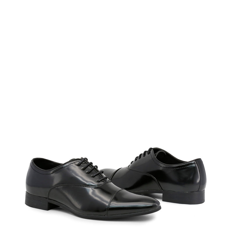 Duca di Morrone Men's Polished Effect Lace-Up Shoes - WILLIAM
