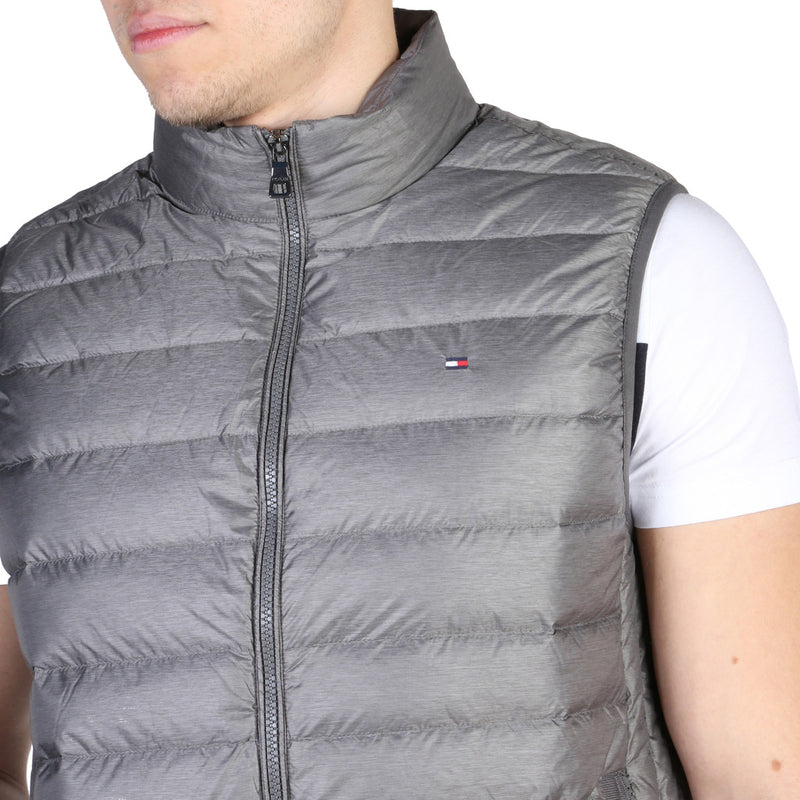 Tommy Hilfiger Men's Sleeveless Bomber - Bodywarmer