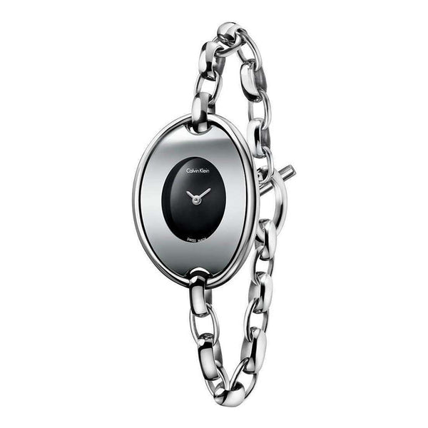Calvin Klein Women's Steel Strap Grey Quartz Analog Watch - K3H2M1