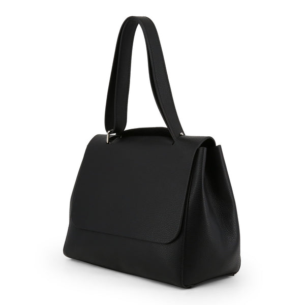 Made in Italia Women's Zip Closure Leather Shoulder Bag - ISOTTA