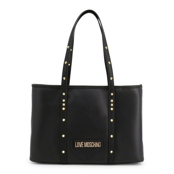 Love Moschino Women's Zip Closure Shopping Bag - JC4083PP1ALL