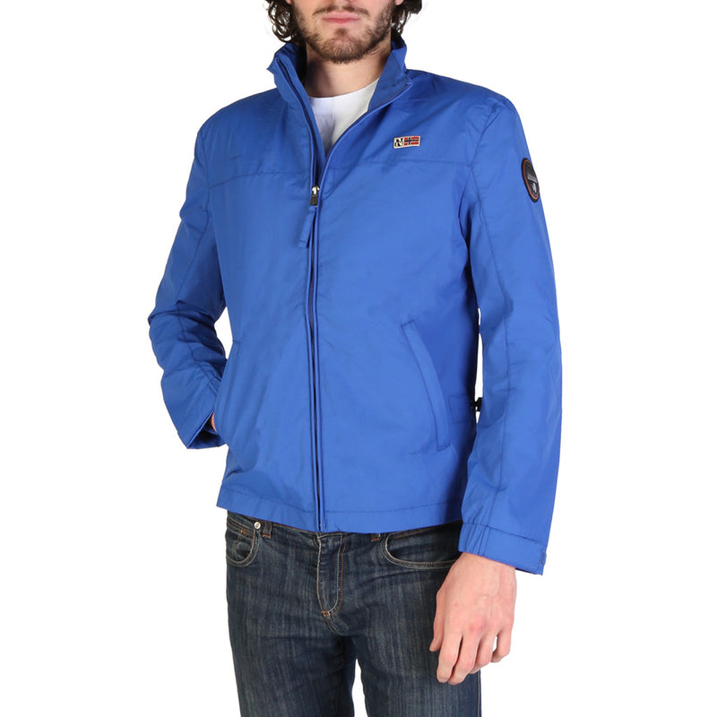 Napapijri Men's Regular Fit Long Sleeve Bomber - SHELTER_N0YIJF