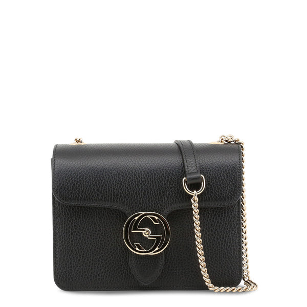 Gucci Women's Snap Closure Leather Crossbody Bag - 510304_CA00G