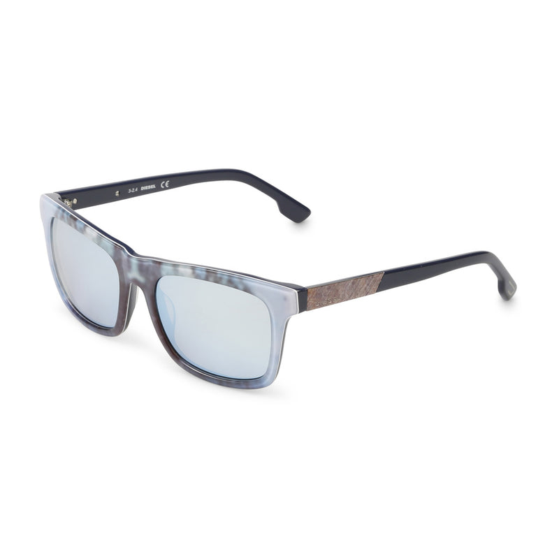 Diesel Unisex Acetate Mirrored Sunglasses - DL0120