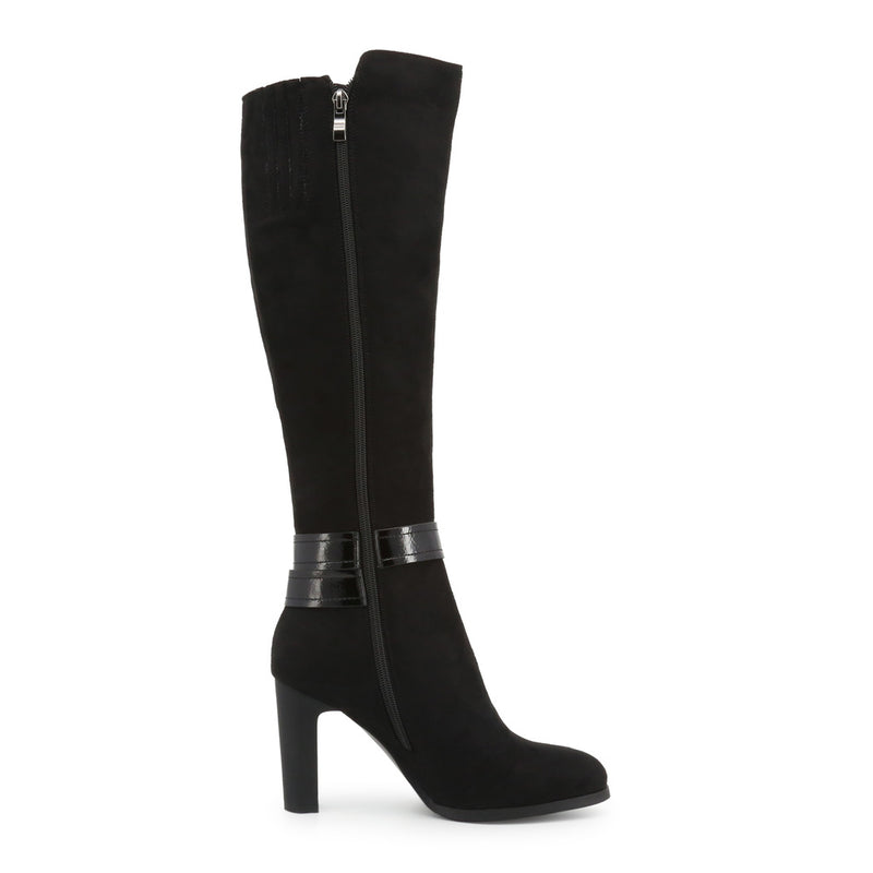 Laura Biagiotti Women's Ankle Strap Buckle Boots With Side Zip - 5842-19