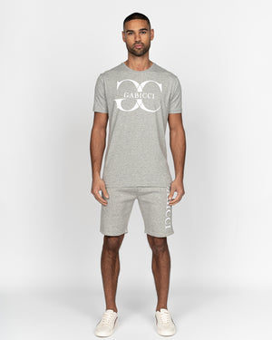 Caruso T-Shirt Light Grey Marl